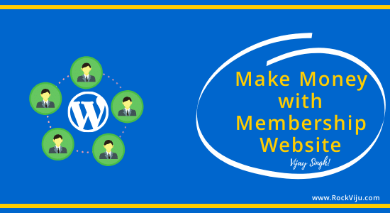 Make Money with Premium WordPress Membership Website