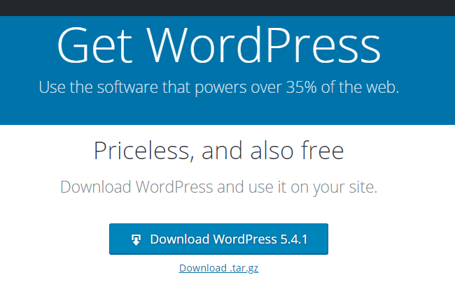 Download WordPress Latest Version for Free