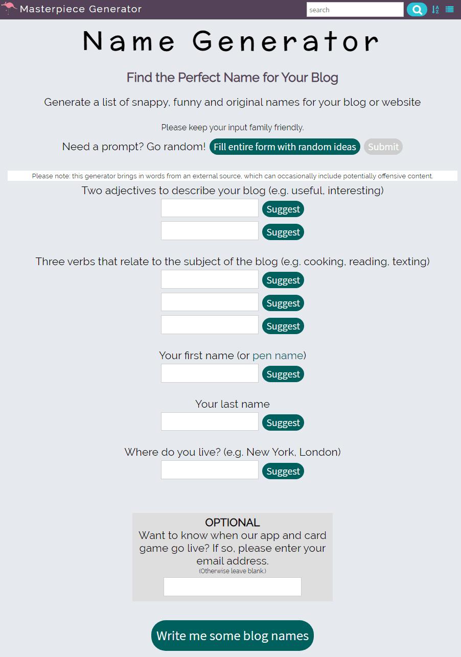 name-generator-org-uk-blog