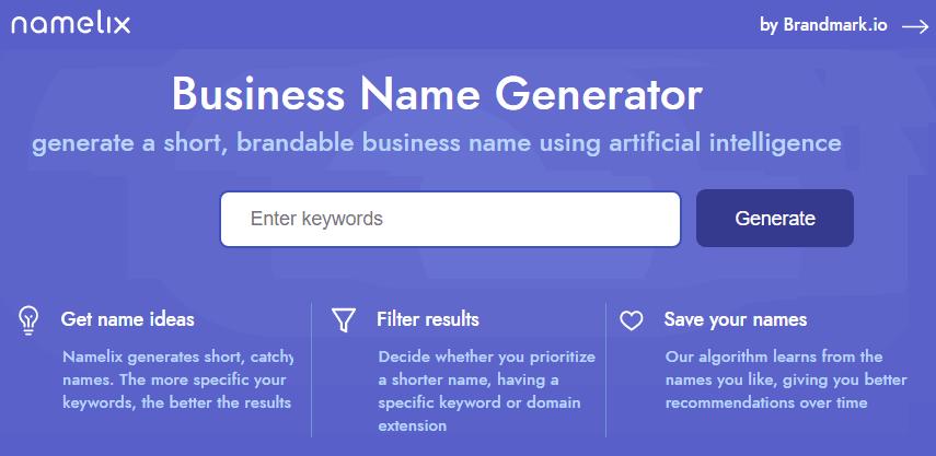 namelix-com Business Name Generator