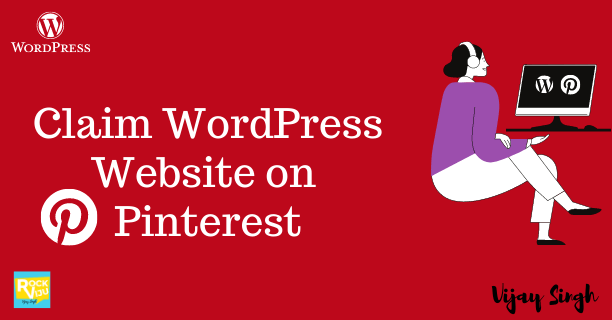 How to Claim WordPress Website on Pinterest